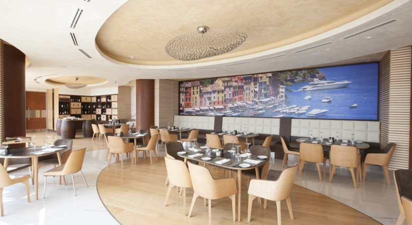 Miraggio Thermal Spa Resort Halkidiki Italian Restaurant