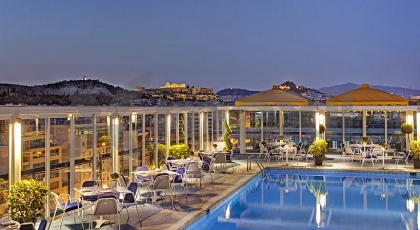 Panorama All Day Lounge Restaurant Athens Ledra Hotel