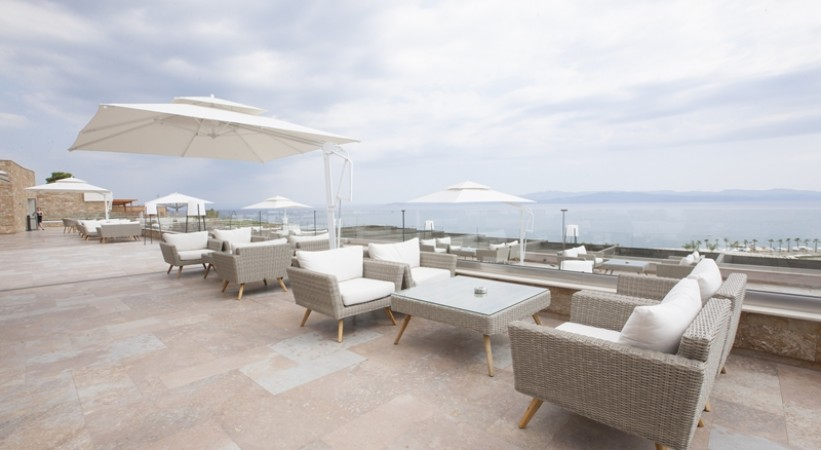 Miraggio Thermal Spa Resort Halkidiki Veranda
