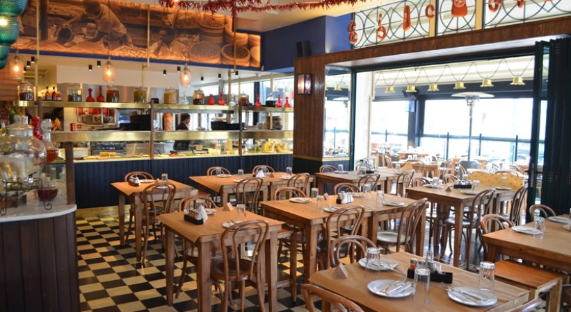 Restaurant Η πόλη Nea Filadelfia Athens