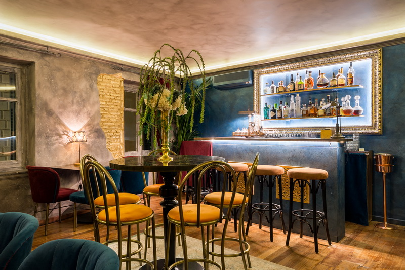 Cafe Bar Loggia By Dell Acque Corfu Mexil Sarikehagias