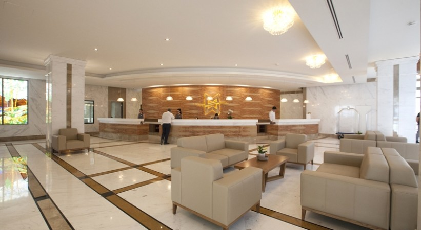 Miraggio Thermal Spa Resort Halkidiki Lobby