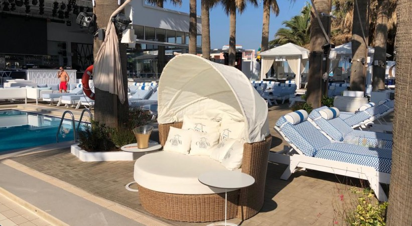 BEACH BAR CABANA MARE CHANIA CRETE